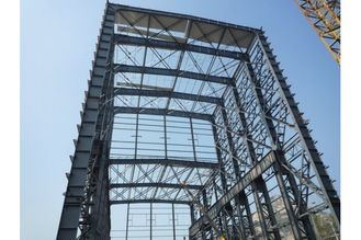 China Q345QD Heavy Steel Structural Industrial Steel Buildings With Welded H Beam Steel Structure supplier
