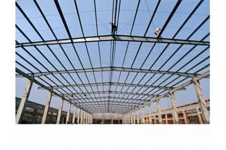 China Long Length / Single Span Industrial Steel Buildings / Workshop / Warehouse With Large Space supplier