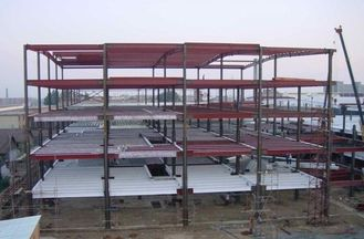 China High-strength / Multi-functional Multi-storey Steel Building With Light Steel Structure supplier