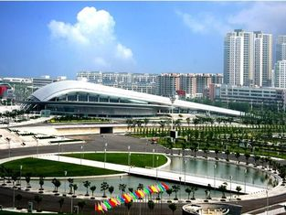 China Modern Heavy Industrial Commercial Steel Buildings Natatorium in Gymnasium supplier