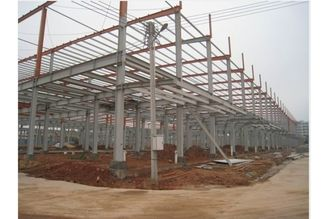 China Prefab Office Building , Steel Framing Systems With Steel Structure Galvanized Panel supplier