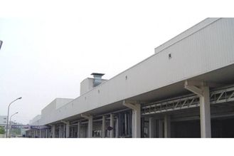China Galvanized Steel Structure Pre-engineered Buildings With Wall Cladding Panel supplier