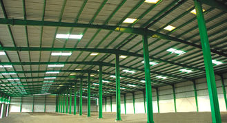 China Custom Fabricated Pre-engineered Building Steel Structure Building  Double Span supplier