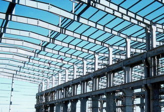 China Heavy Weight Metal Industrial Structural Pre-engineered Building With Multi-span supplier