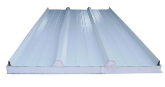China Steel Building Metal Roofing Sandwich Panel EPS Filling 30mm to 150mm supplier