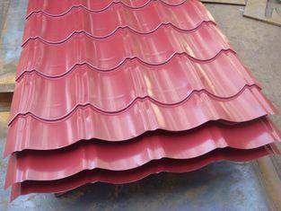 China AISI / ASTM / JIS Metal Roof Sheeting Steel Workshop Glazed Tile Shape supplier