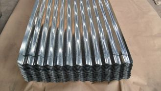 China Color Coated Metal Roof Sheeting Galvanization / Galvalume / Prepainted Treatment supplier