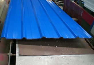 China Building Wall / Roof Metal Roofing Sheets 0.6mm Thickness High Strength supplier