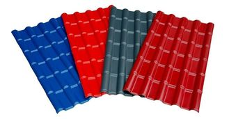 China Customized Painting Metal Roofing Sheets Anti-corrosion 0.3mm - 1.2mm supplier