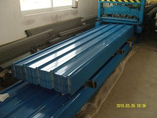 China Fabricated Fireproof Metal Roofing Sheets Coated High Strength supplier