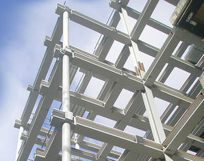 China Multi-storey Structural Steel Fabricators High Strength For Frame Building supplier