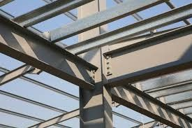 China Heavy Steel Structural Steel Fabrications Welded / Galvanized H Type Beams supplier