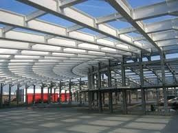 China Modern Q235 / Q345 Structural Steel Fabrications Alloy for Steel Structure supplier
