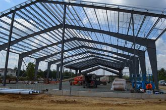 China Single Span Pre-engineering Building Prefabricated Light Steel Structure supplier