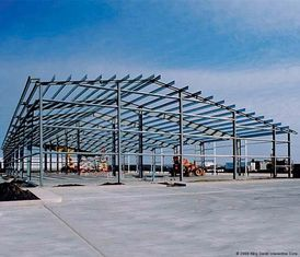 China Commercial Building Pre-engineering Building Fashionable Dissymmetric Structure supplier