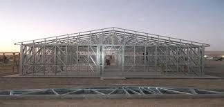 China Q235 / Q345 Structural Pre Engineered Buildings With Hot Galvanized Steel supplier