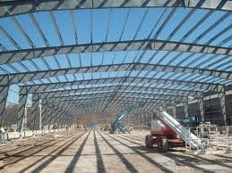 China Steel Stable Pre-engineered Building For Large Shopping Malls supplier