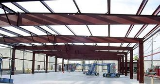 China Prefabricated Steel Pre-engineered Building With Q345 Heavy Column supplier