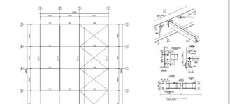China Durable Structural Engineering Designs For Steel Shed Steelwork supplier