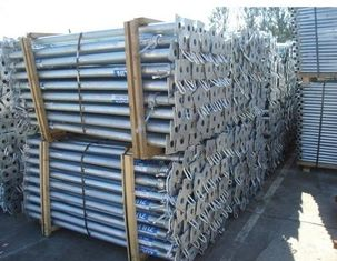 China Galvanization Formwork Adjustable Structural Steel Fabrications Props In Prop Formwork System supplier