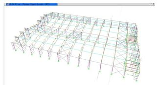 China Preliminary Architectural Structural Engineering Designs With Metal Frame supplier
