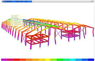 China 3D Location Structural Engineering Designs With Accurate Component Shape / Size supplier