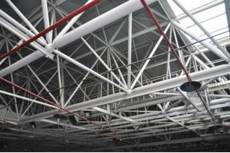 China Energy Saving Structural Steel Fabrications Buildings Galvanized Panelized Wall System supplier