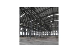 China Galvanized Structural Steel Fabrications Warehouse Buildings Covered By Wall Cladding Panel supplier