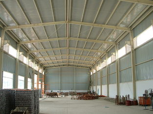 China Portable Durable Pre-engineered Building , Lightweight Steelwork Shed Barn supplier