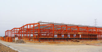 China I Section Shape Industrial Steel Buildings Hall Modern Design Beautiful Apperance supplier