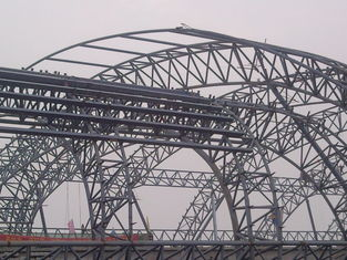 China Tekla Xsteel Designed Industrial Steel Buildings Convenient Site Erection supplier