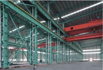 China Prefab House Seismic Proof Light Industrial Steel Workshop Easy Erection supplier