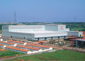 China Bespoken Made Metal Warehouse Industrial Steel Buildings ASD/LRFD Standards supplier