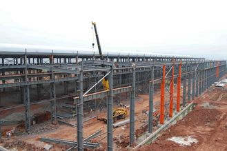 China Fire Resistence Modern Heavy Industrial Commercial Steel Buildings Shopping Mall supplier
