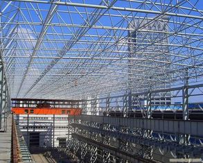 China Steel Truss Commercial Steel Buildings For Retail Stores, Strip Malls, Mega-Store supplier