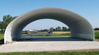 China Wide Span Steel Structure Aircraft Hangar Buildings Covered Roof Panel supplier