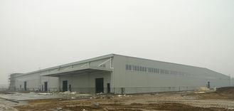 China ASTM Material Insulated Structural Steel Fabrications Frame Workshop With Full Roof / Wall Panels supplier