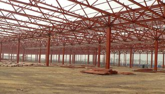 China H Section Shape ASTM A36 Structural Steel Fabrications Frame Buildings Achieve Seismic Indicators supplier