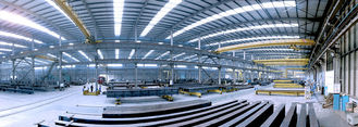 China Heavy Hot Dip Galvanized Structural Steel Fabrications Industrial Workshop Adopt Light Metal supplier