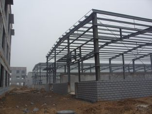 China H-section Industrial Steel Building Fabrication For Steel Column / Beam supplier