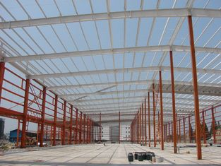 China H Shape Column Beams And Sandwich Shrouding Industrial Steel Buildings supplier