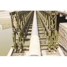 China Custom Welding, Braking, Rolling Steel Structural Bailey Bridge, Pedestrian Bridges supplier