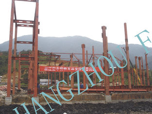 China High Level Structural Pre-engineered Workshop Fabrication Painted Durable Heavy Steel supplier