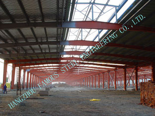 China A36 Pre Engineered Industrial Steel Buildings Welded H Shape For Fabric Mills supplier