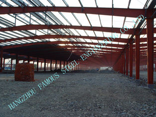 China H Section Beams / Columns Steel Framed Buildings Pre Engineered 80 X 100 Clearspan supplier