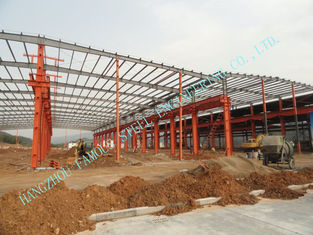 China Mining Warehouse Prefab Steel Buildings Pre Engineered Multispan ASTM Standards supplier