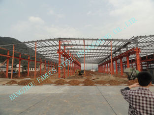 China Pre Engineered Frame Industrial Steel Buildings 60' X 90' High Strength Bolts supplier