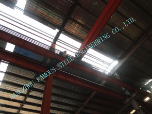 China Industrial Prefab 80 X 110 Steel Framed Buildings Consisted W Section Columns / Beam supplier