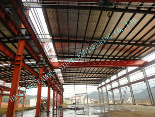 China Pre Engineered 95 X 150 Industrial Steel Buildings Mining Project ASTM Standards supplier