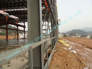 China ASTM ASD Prefabricated Steel Buildings , Pre Engineered 85' X 100' Power Station Project Workshops supplier